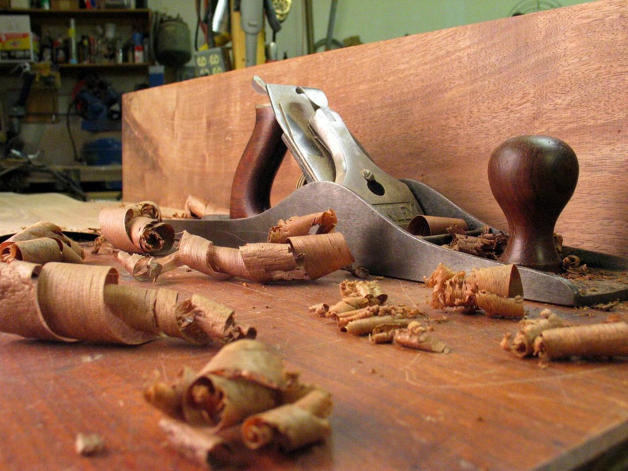 Rodzaje obróbki drewna
